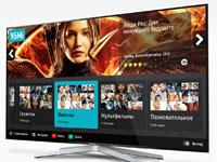 Дизайн приложения видео сервиса для Samsung Smart TV